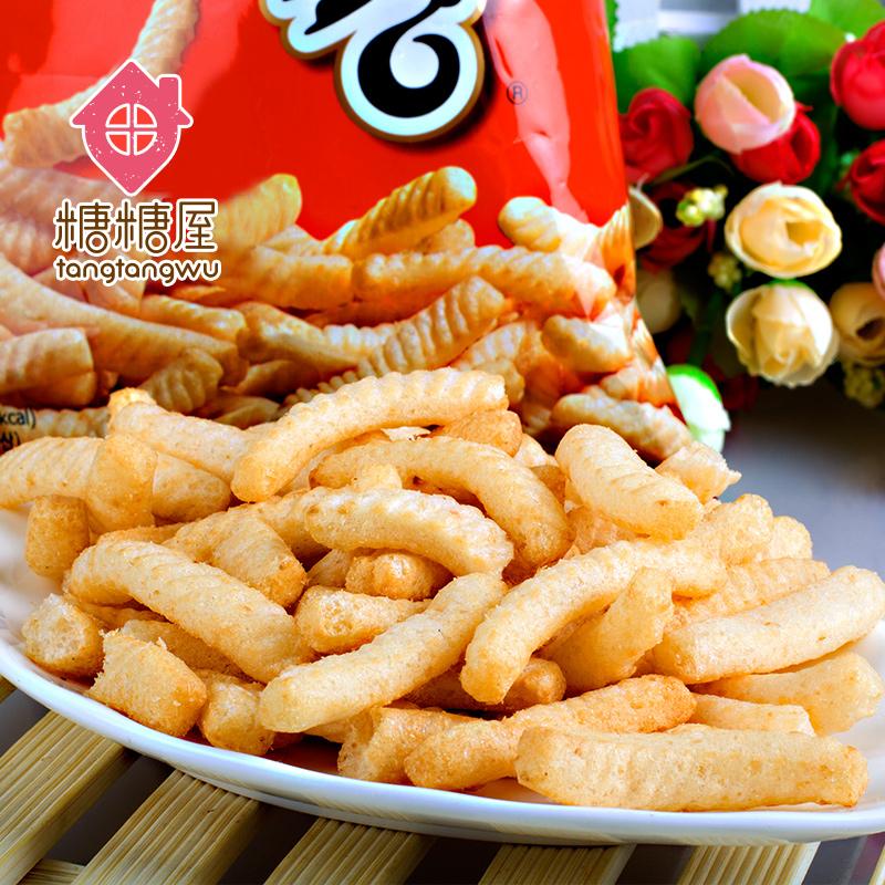 【糖糖屋】韩国进口零食品 农心原味鲜虾条90g实惠大包装薯条
