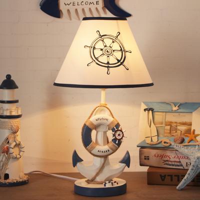 儿童地中海卧室床头美式小夜灯台灯