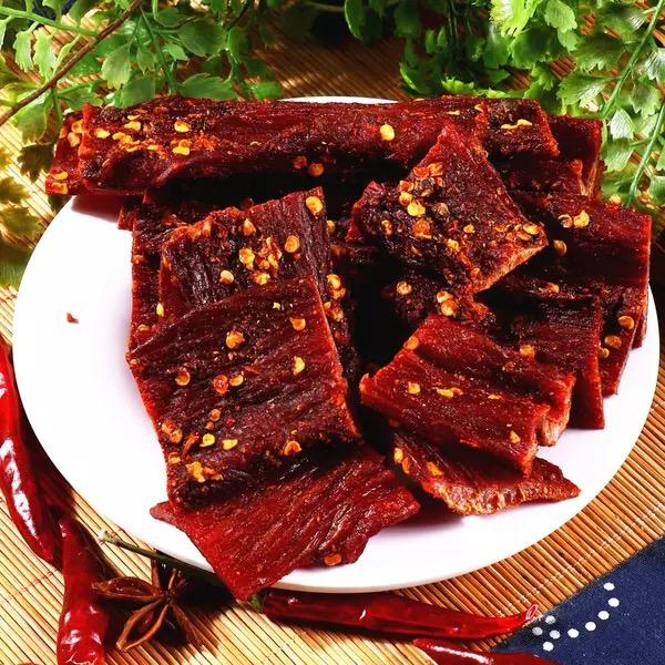 牦牛肉干超干风干香辣麻辣原味五香味四川西藏青海内蒙特产包邮