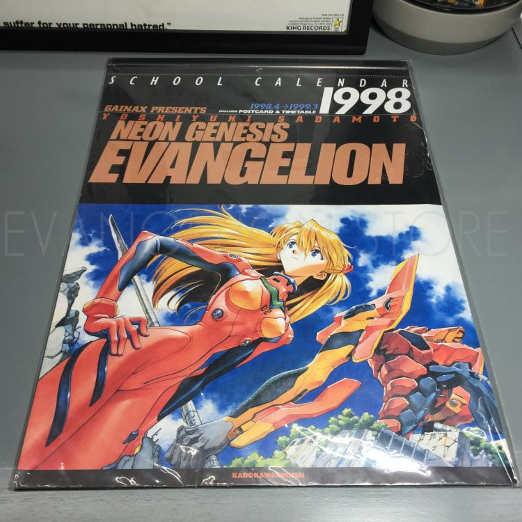 Japanese version spot new century evangelical warrior EVA 98 calendar made in Japan
