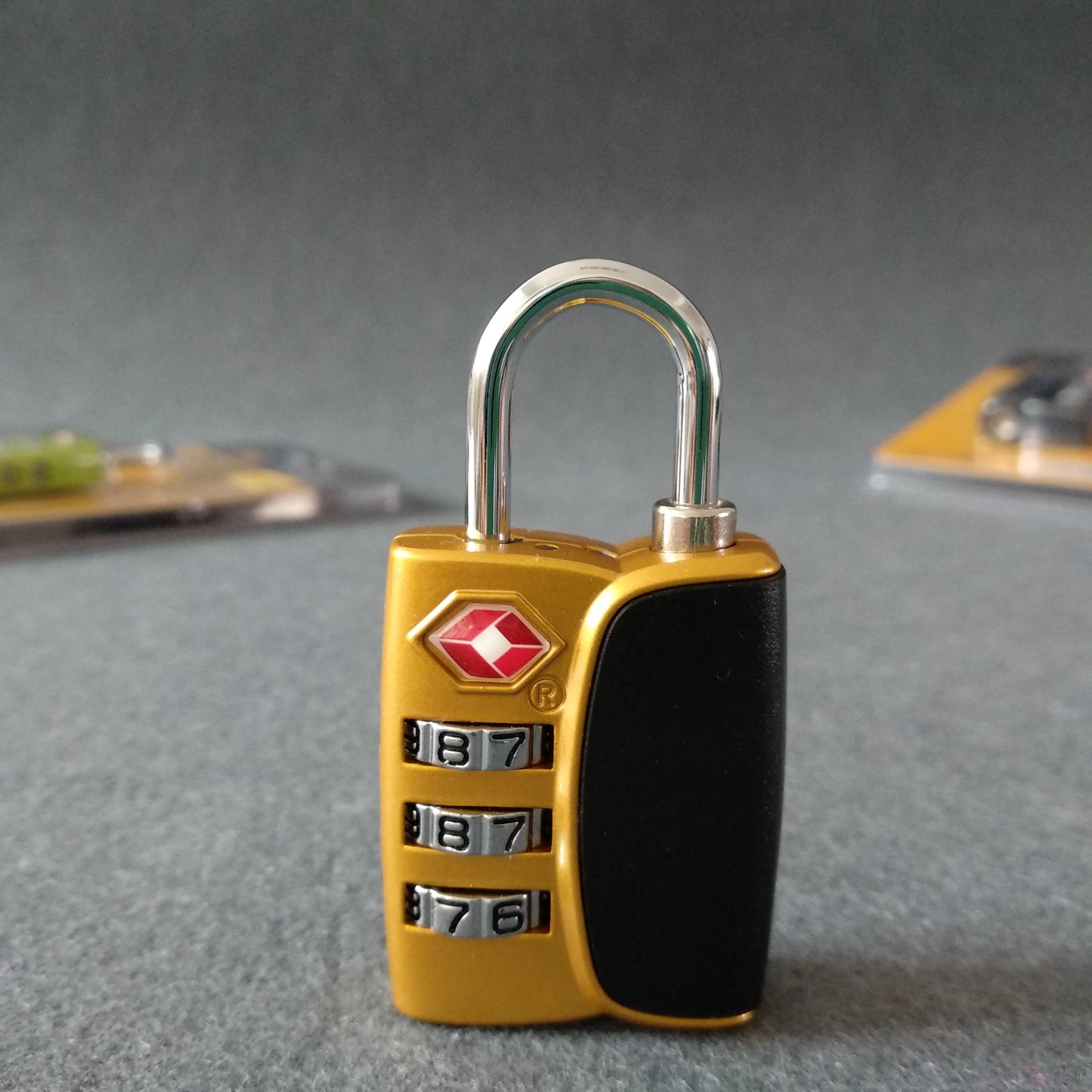 Путешествие TSA таможенные замок кража багажник род коробки кожаный чемодан рюкзак без ключ из пароль замок мешки запереть