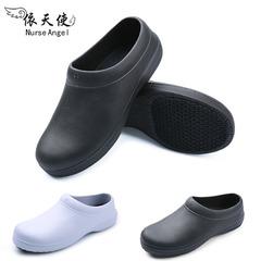 Giày đầu bếp nam chống trơn trượt dầu- giày dép chống thấm nước- giày dép phẫu thuật cho nam bác sĩ- giày chuyên dụng cho nhà hàng nhà máy, công xưởng