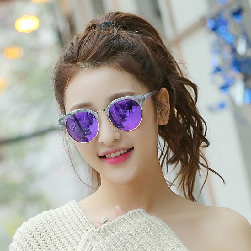 欧比特太阳镜女潮2018明星款女士遮阳个性墨镜潮流复古偏光太阳镜