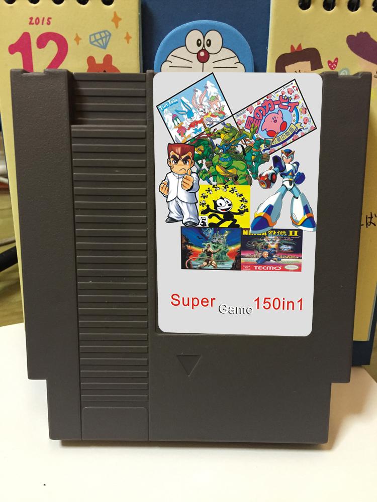 8位72pin NES 游�蚩�150合一�K�Y版