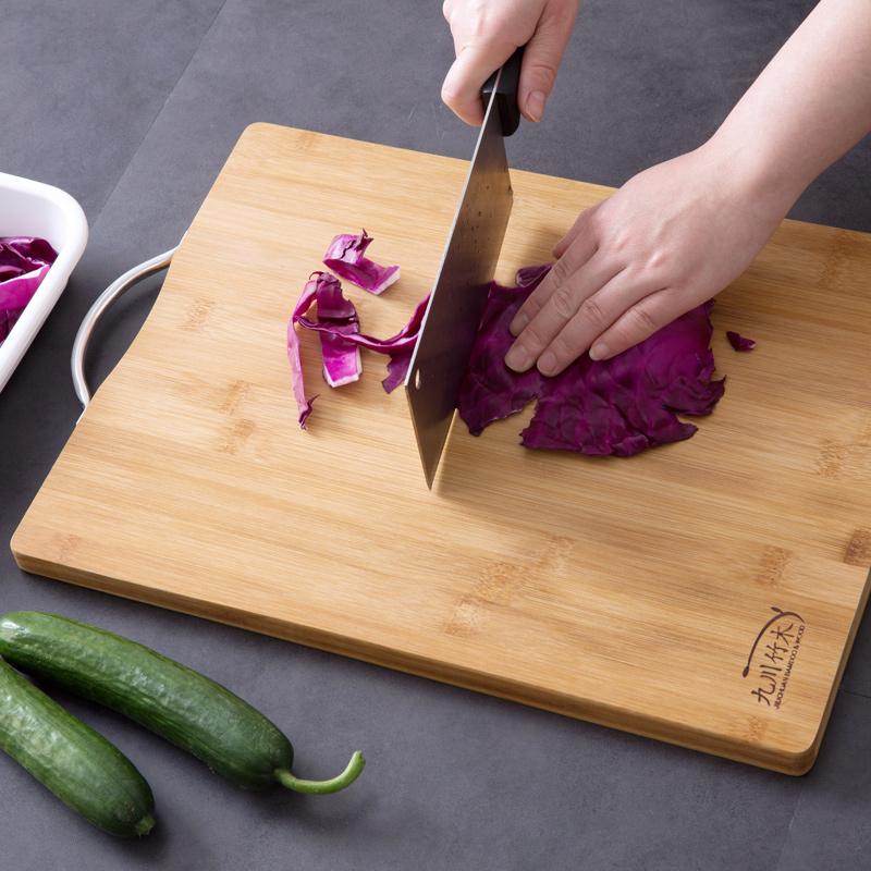 居家家厨房切水果整竹菜板切菜板竹子大号砧板案板擀面板家用菜板