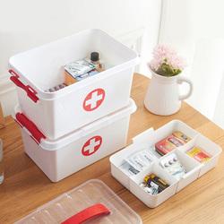 居家家医药箱家用大容量急救箱医疗箱家庭装大号应急药品收纳盒