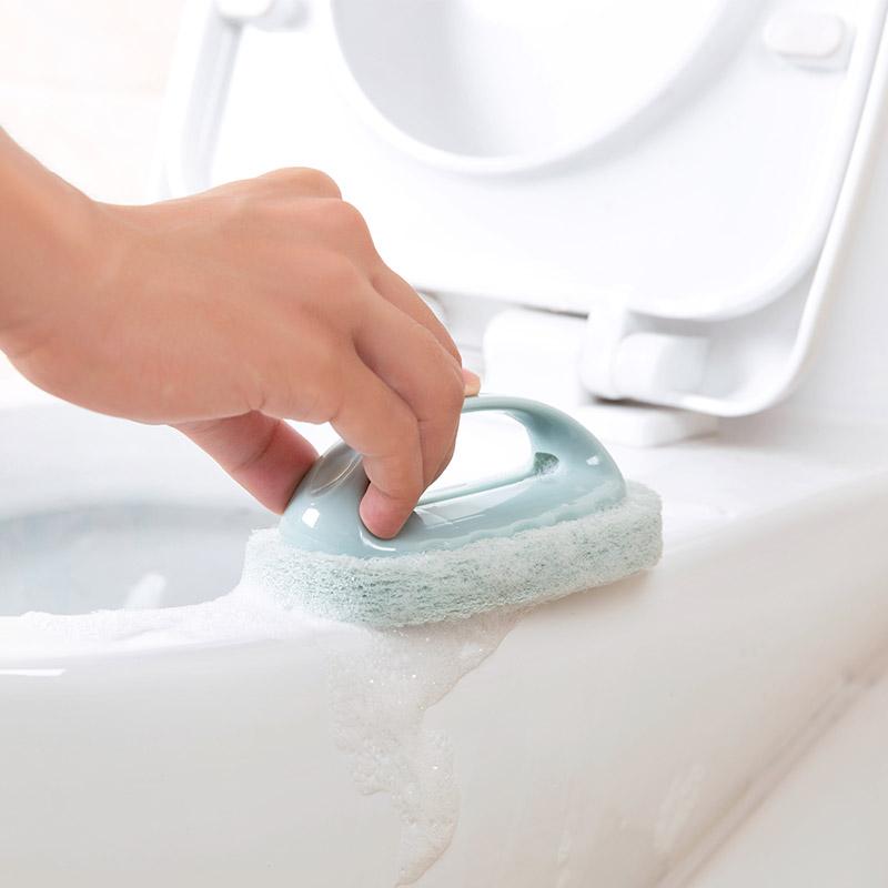 Домой домой анти ванна щетка ванная комната керамическая плитка щетка кухня обеззараживание щетка мыть горшок очистка щеткой магия губка вытирать