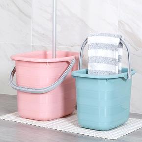 储水桶学生宿舍用塑料桶家用拖把桶大号手提长方形大洗衣桶小方桶
