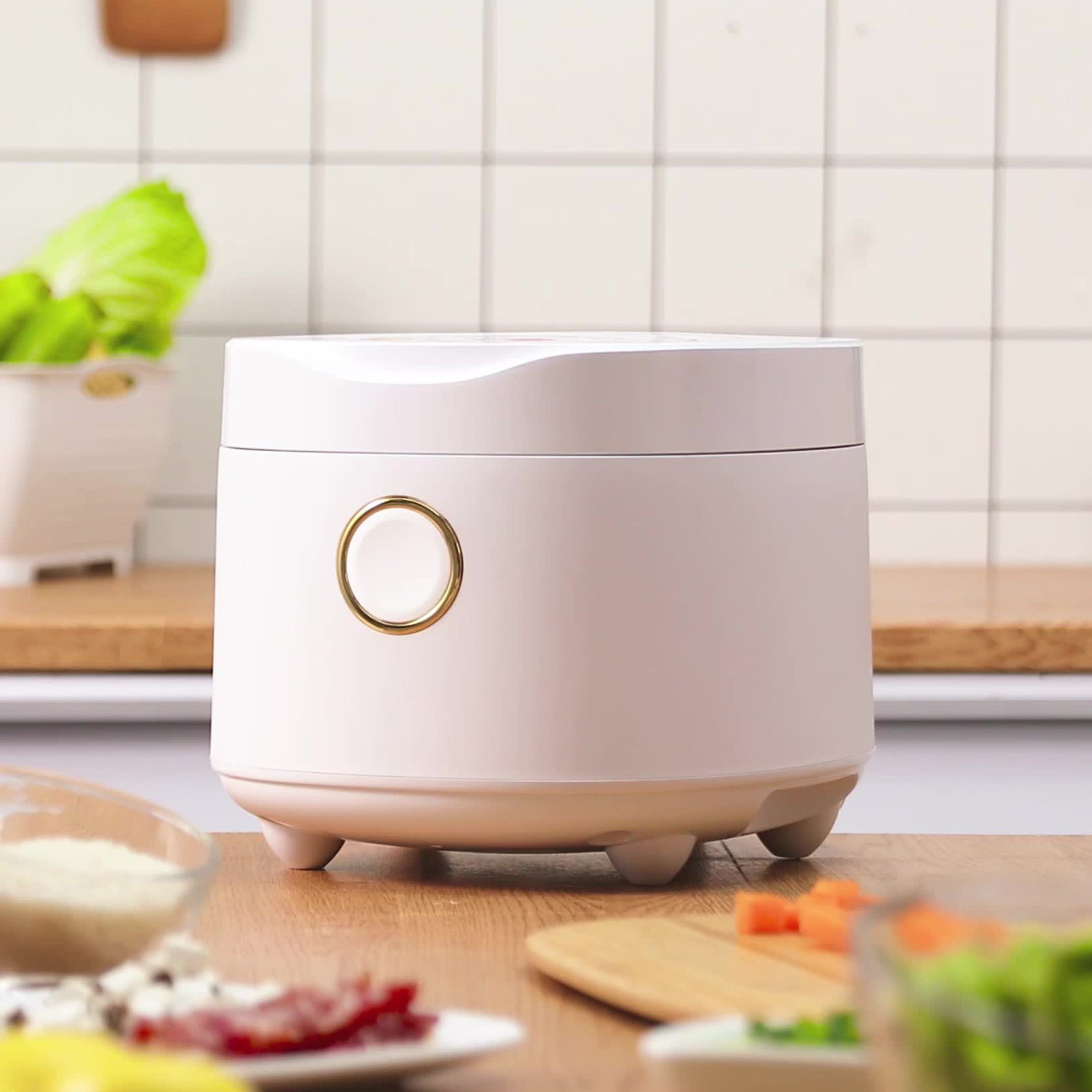 Aux / aux vk-301f2 multi function household intelligent reservation 2-3-4 small mini rice cooker 3L