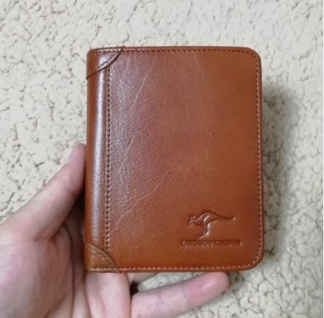 本店主强推荐男式钱包 真皮短款皮夹 里外全头层牛皮时尚新款钱包