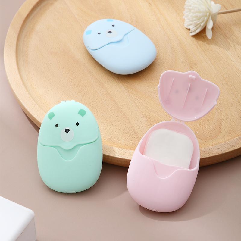 便携香皂片肥皂片儿童洗手片抑菌旅行一次性香皂纸随身携带小巧宝