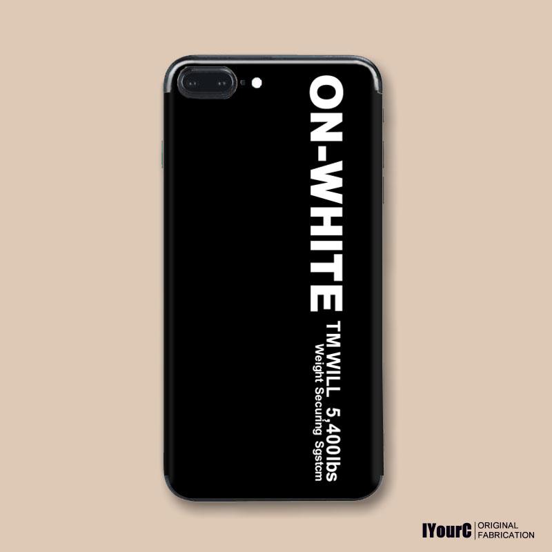 欧美街头手机贴纸iPhone7/6s/8/Plus/X苹果6创意情侣男女背贴后膜