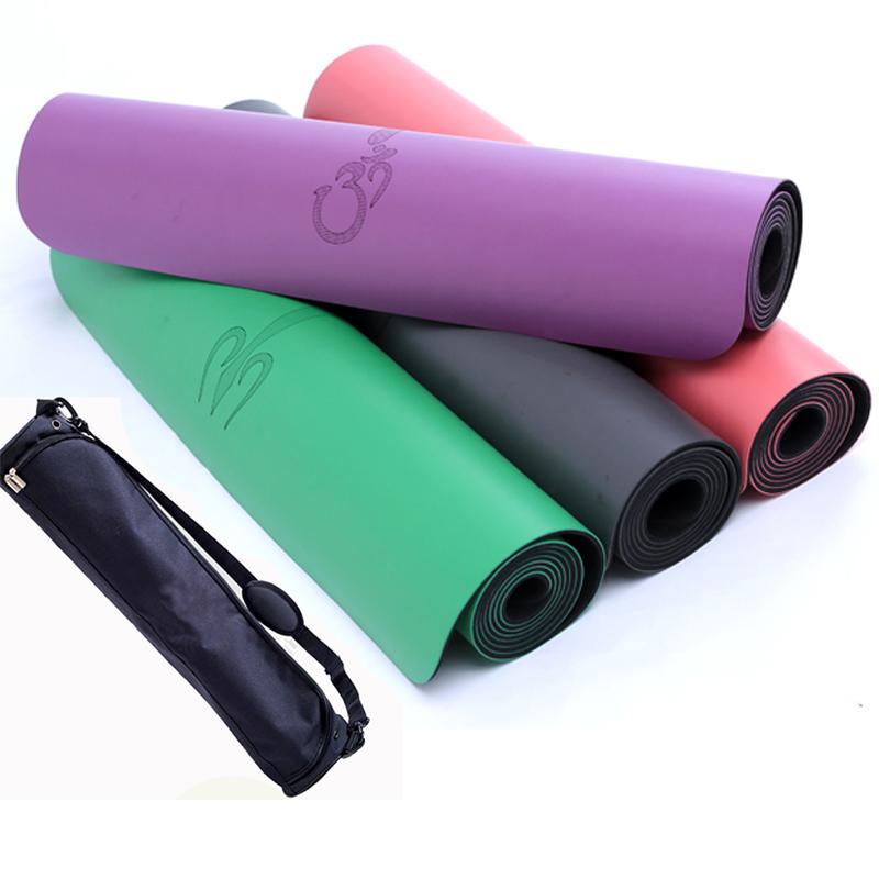引导线专业瑜伽垫健身垫加宽68cm愈加瑜珈垫天然橡胶防滑土豪垫子