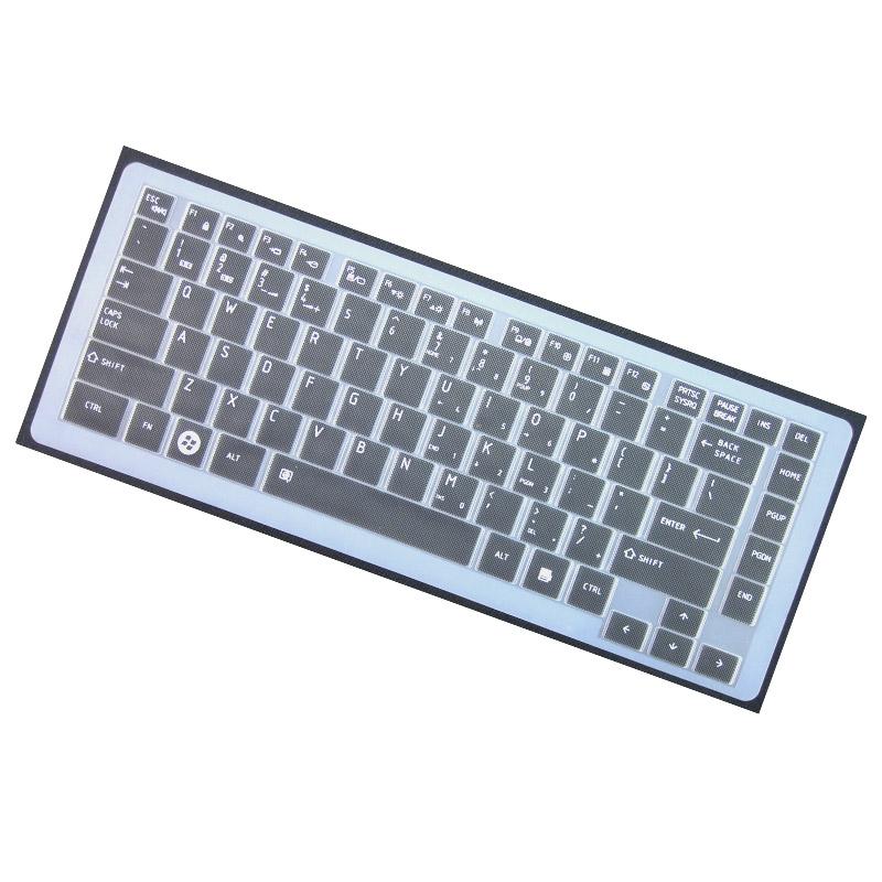 东芝L600键盘保护贴膜L600D L630 C600 C600D L730 L700笔记本电脑Satellite防尘套罩凹凸彩色硅胶全覆盖按键