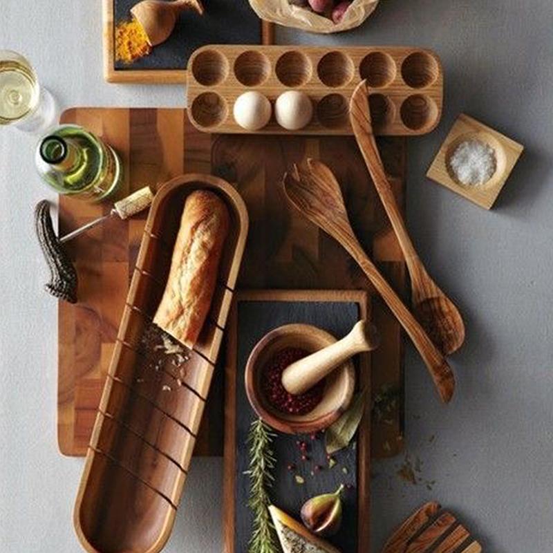 妙home 鸡蛋收纳盒 相思木 放鸡蛋的收纳盒冰箱用 厨房收纳