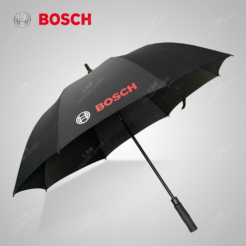 德国Bosch博世雨伞黑色大雨具电动工具限量版