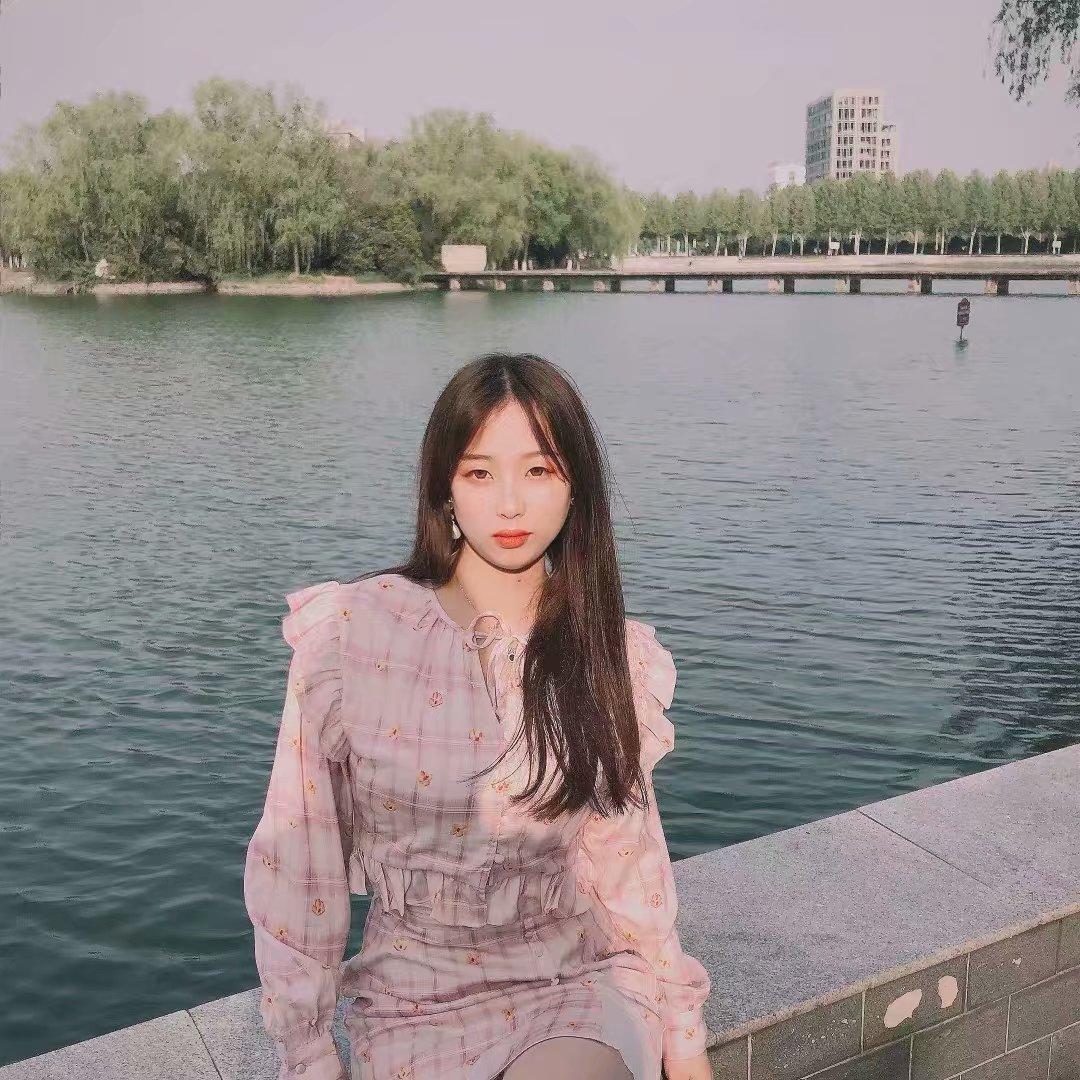 2019秋冬新款衬衫半身裙套装元气少女粉格小花衬衫加半身裙