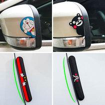 汽车车门暴力熊防撞贴防刮防蹭条可爱创意装饰mini适用于宝马迷你