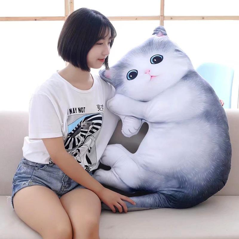 Моделирование кот подушка кукла китти кукла куклы ложиться спать подушка руководитель может любовь плюш игрушка женский детей сырье подарок