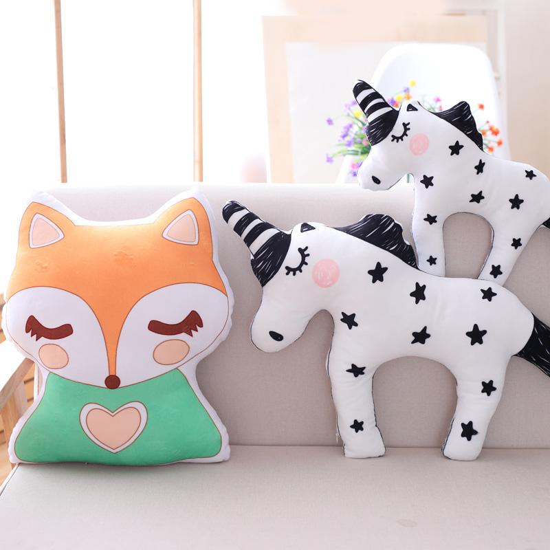 Плюш игрушка единорог подушка руководитель может любовь ложиться спать подушка оптовая торговля ткань кукла кукла женский детей сырье подарок