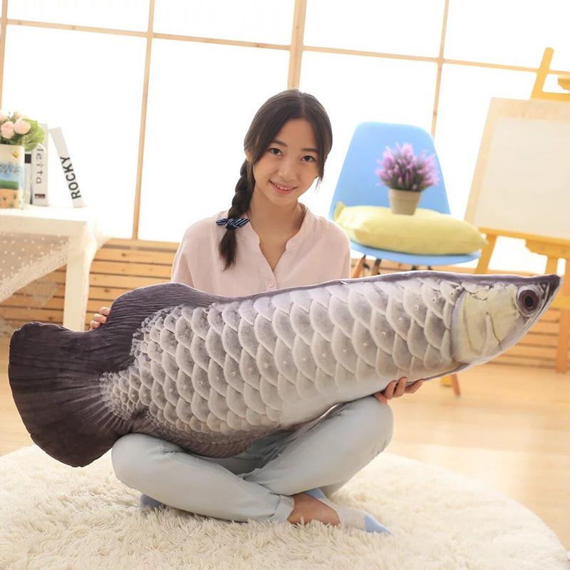 Моделирование рыба подушка кукла большой размер секретаря статья подушка рыба плюш игрушка держать частица континиуса ложиться спать из кукла девочки день подарок