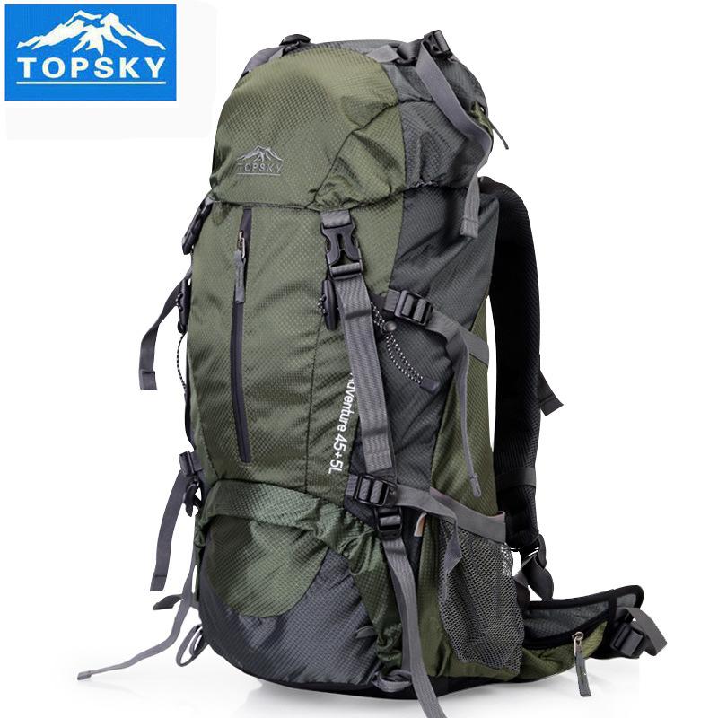 topsky远行客耐磨运动户外徒步登山包双肩旅行背包40升