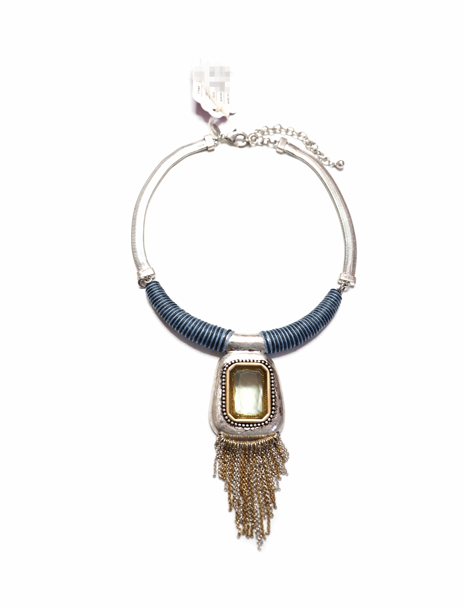 Unique new style show, old style Tassel Necklace, tribal style, metropolis fashion vane, temperament and fashion