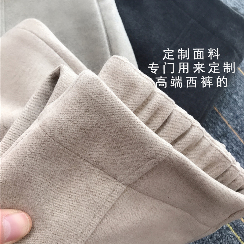[clearance] roar recommendation! Suit pants, high waist straight pants, grandmother pants, woolen cloth, pipe, small leg pants, female