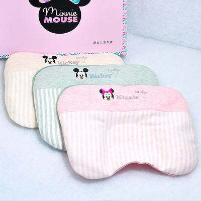 迪士尼商场正品 婴幼儿定型枕新生儿枕宝宝决明子荞麦壳枕头U型枕