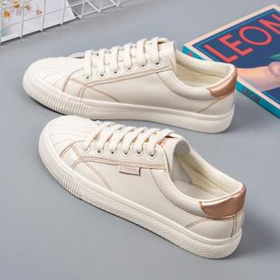 小白鞋 平底贝壳鞋 女鞋 秋季 百搭爆款 ins街拍潮鞋 板鞋 子2020年新款
