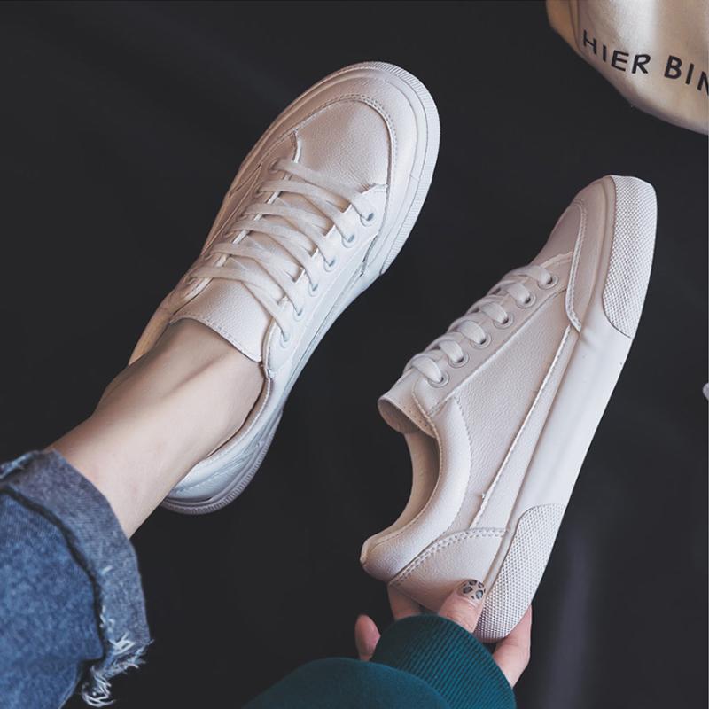 小白鞋女鞋子2021年新款春秋季百搭爆款平底运动板鞋ins街拍潮鞋