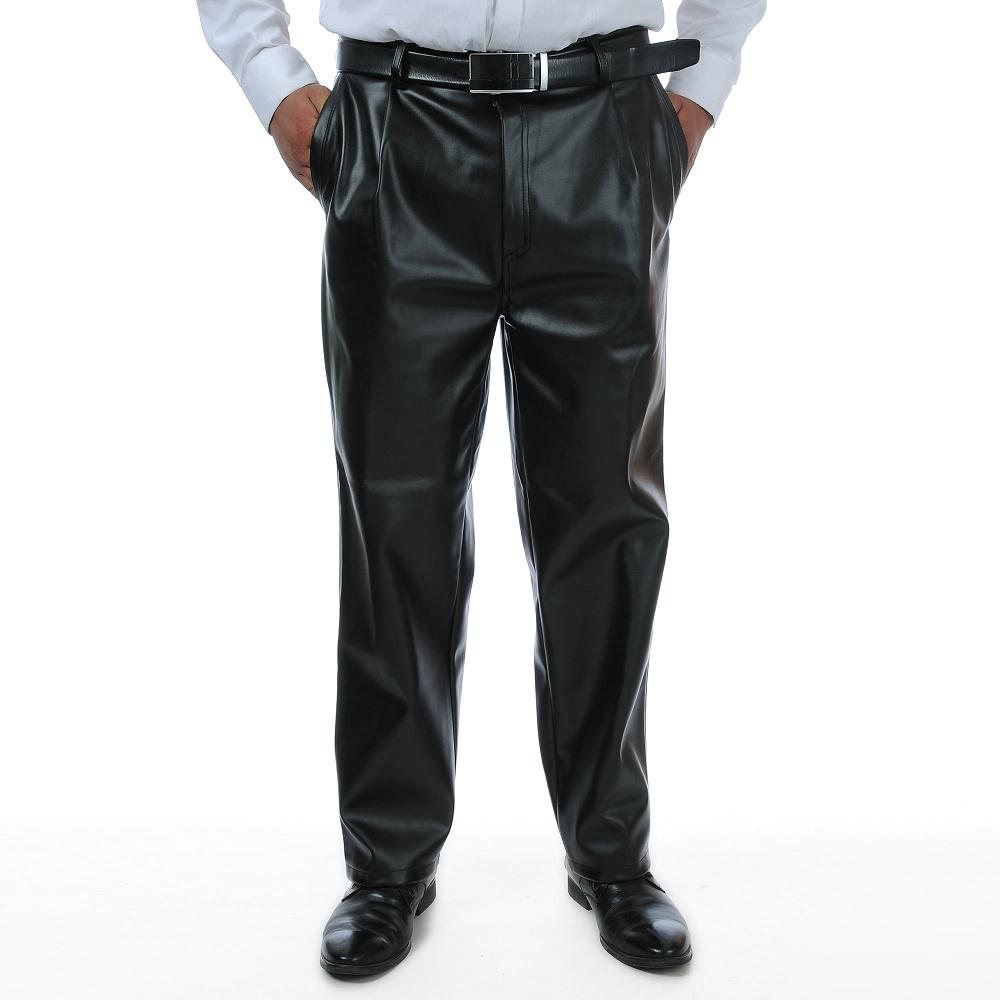Кожаные брюки Артикул 538350922626