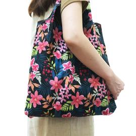可折叠 防水购物袋买菜袋防水包中号大容量买菜布便携购物袋