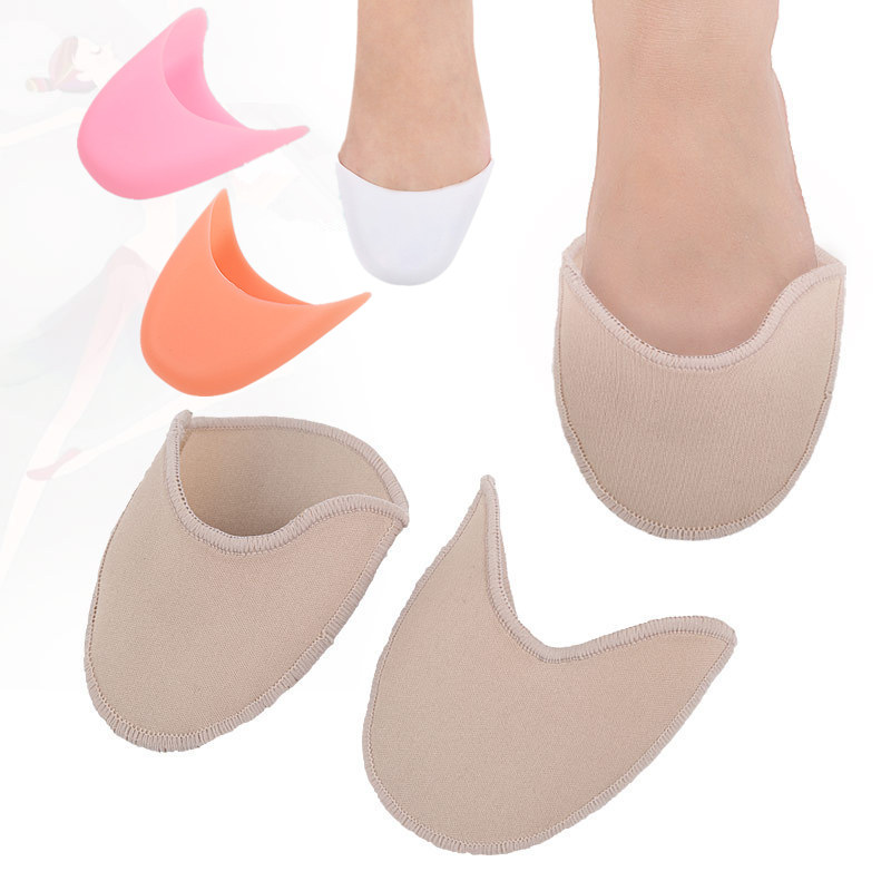 硅胶针织足尖套加厚防磨防痛脚趾套
