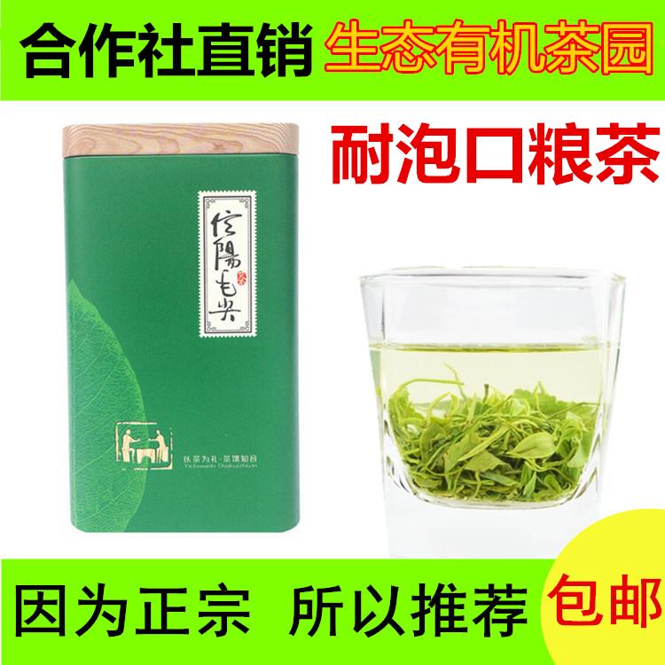 信陽毛先2021年雲山五雲新茶春茶包郵送緑茶新芽特級バルク250 g