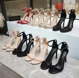 1983美丽鞋鞋坊新款韩版职业工作高跟鞋舒适百搭外穿凉鞋康维女鞋