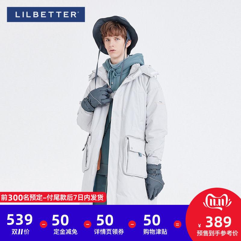 Lilbetter【】棉衣男士棉服连帽保暖冬装外套宽松棉袄潮 thumbnail
