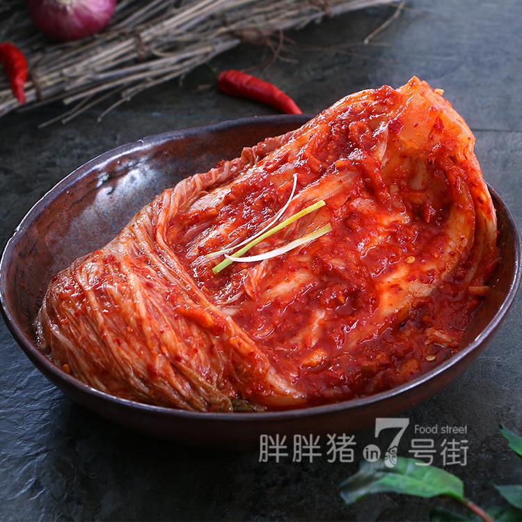 韩国泡菜正宗辣白菜东北酸辣白菜朝鲜下饭菜延边韩式咸菜500g