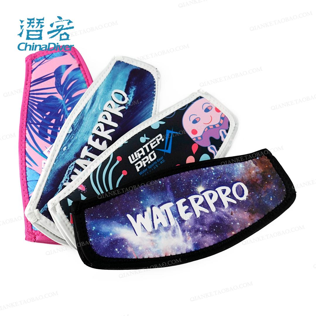 Water Pro дайвинг использование зеркало группа противо путаница волосы сокращенный установка кондиционер с защитой волосы дайвинг специальный