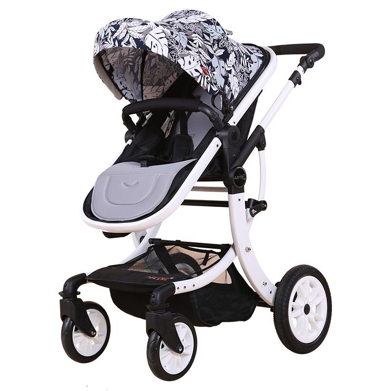 艾米乐婴儿推车轻便高景观童车双向可坐可躺宝宝车避震折叠手推车