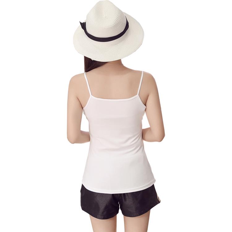 小吊带背心女夏性感棉质短款打底外穿内搭显瘦百搭黑色白色吊带衫