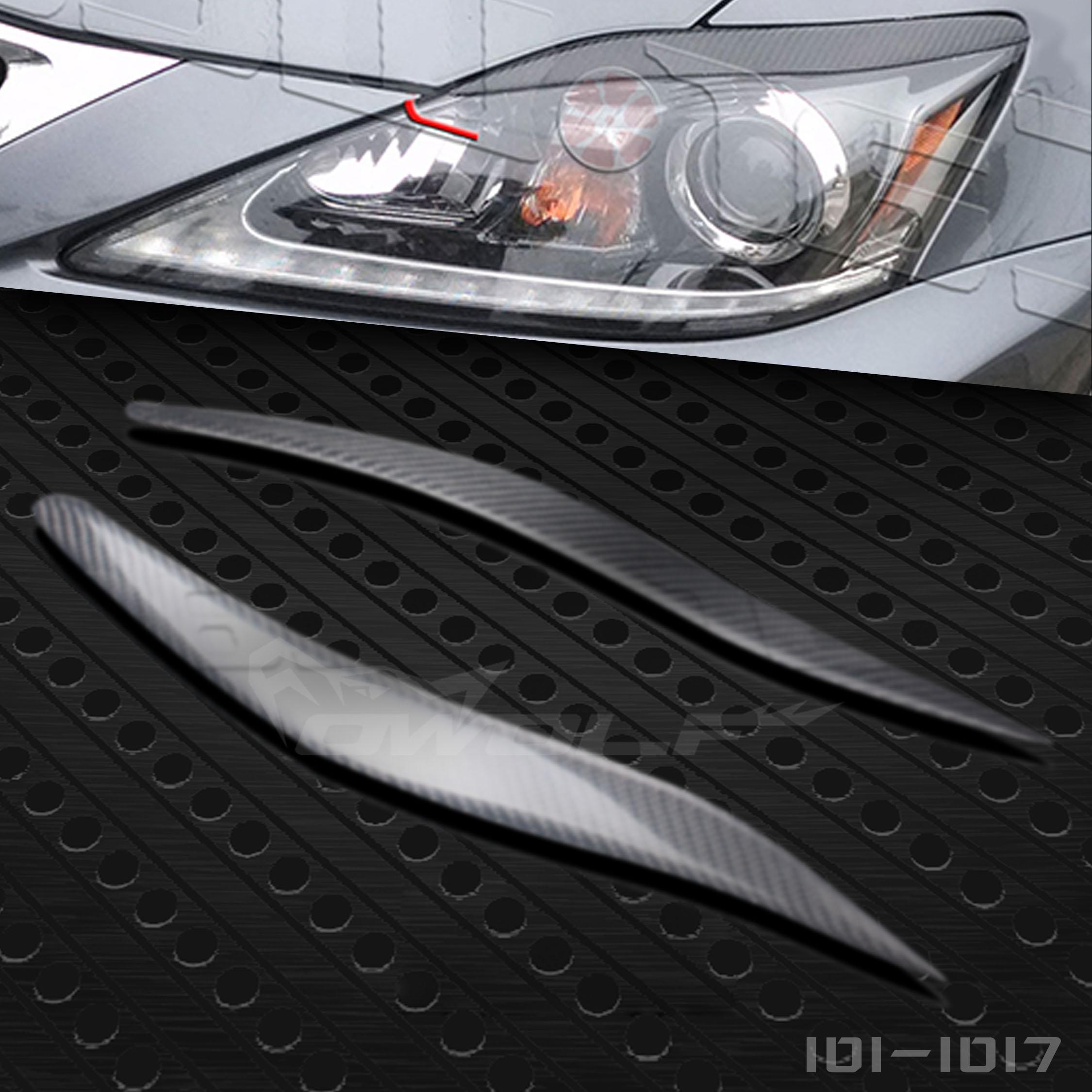 Lexus лексус IS250 IS300 ремонт углеродного волокна брови декоративный бровь пара J модель 06 для 12 модель