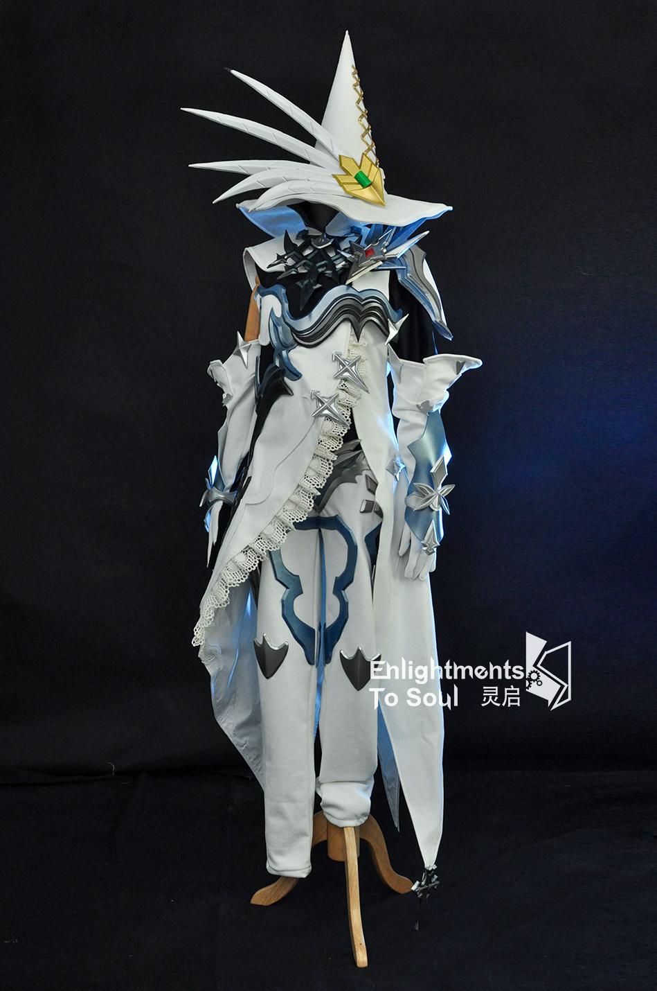 【灵启】最终幻想14 FF14 拉拉菲尔cosplay服装忠实还原量身定制