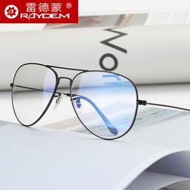 防辐射眼镜男电脑护目抗蓝光眼睛女无度数平光镜平面近视眼镜框潮