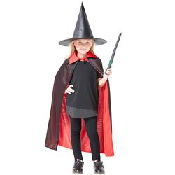 万圣节儿童服装披风魔法师演出服衣服表演魔术帽巫师帽魔术道具