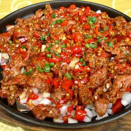 蒙古肉450g酒店饭店半成品肉类美食特色菜私房菜冷冻小炒火锅食材图片
