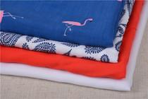 印花人造棉布料人棉富丽绉布料夏季服装布料多款4米包邮
