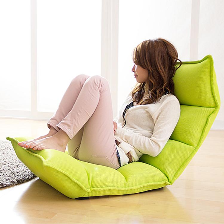 懒人沙发榻榻米单人小沙发日式折叠沙发床上椅宿舍阳台午休躺椅子
