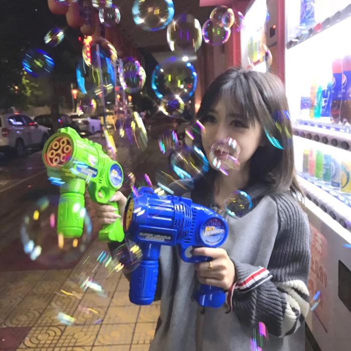网红同款儿童全自动吹泡泡泡泡机满19.80元可用17.82元优惠券