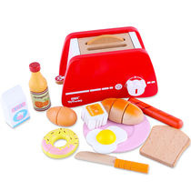 Breakfast toaster Afternoon tea home kitchen toy Role playing childrens puzzle toys
